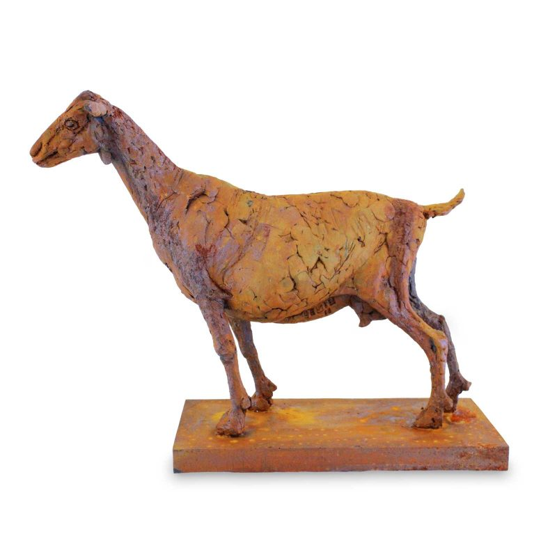 Capra - young Goat sculpture