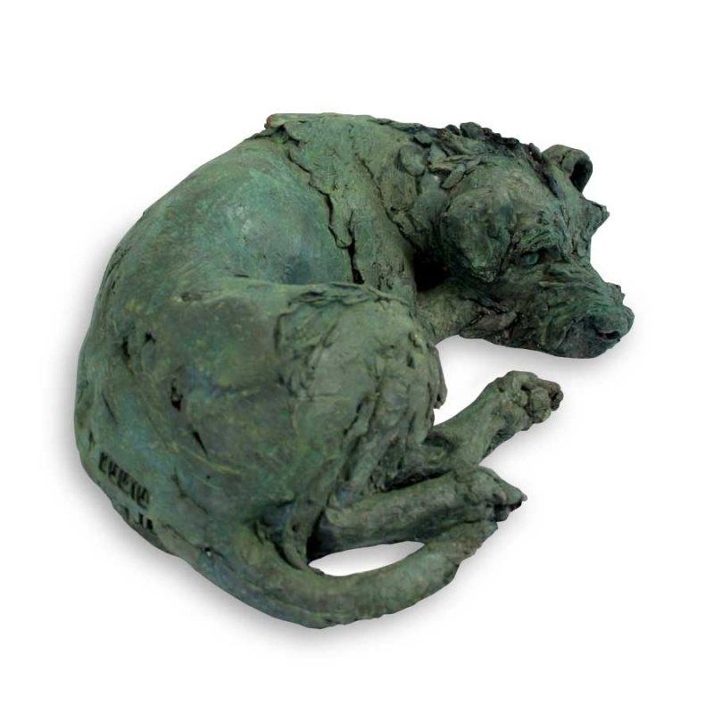 Dame Judi - Border Terrier life size sculpture