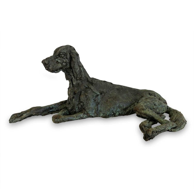 Flynn - English Setter sculpture