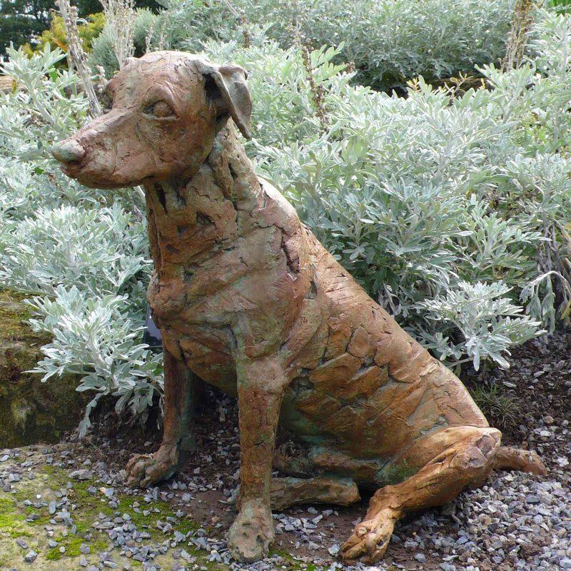 Freddie - Jack Russell Terrier sculpture