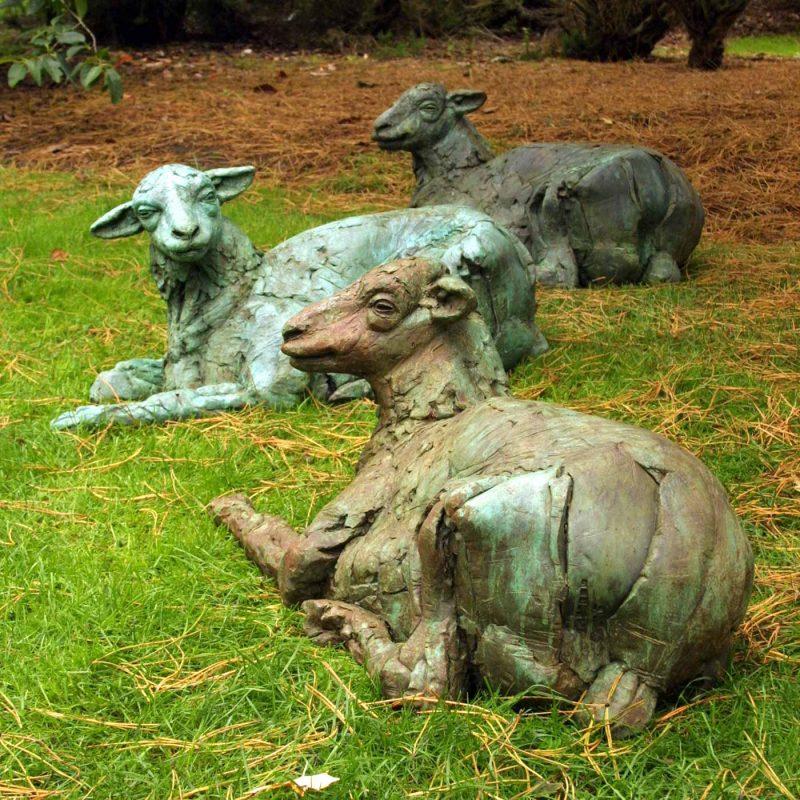 Herdy Gurdy - Life size Herdwick Sheep sculpture