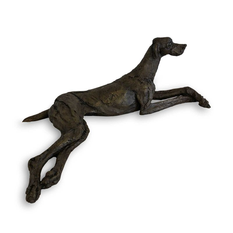 In Truitina - English Pointer sculpture