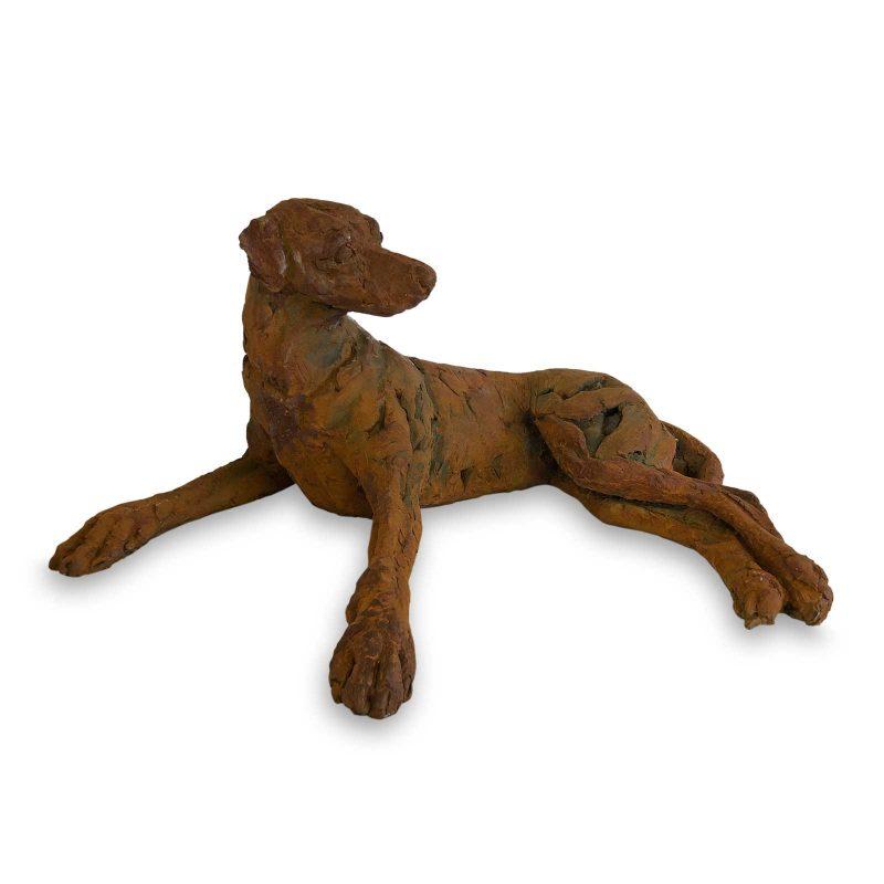 Ridgeback I - Rhodesian Ridgeback sculpture