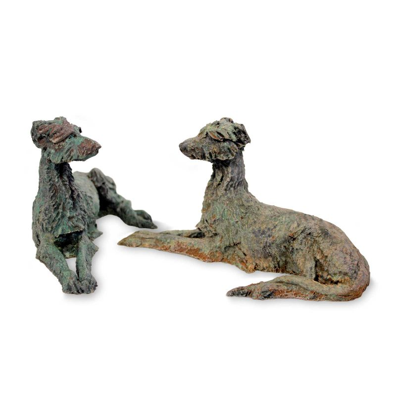 Small Lurcher sculpture