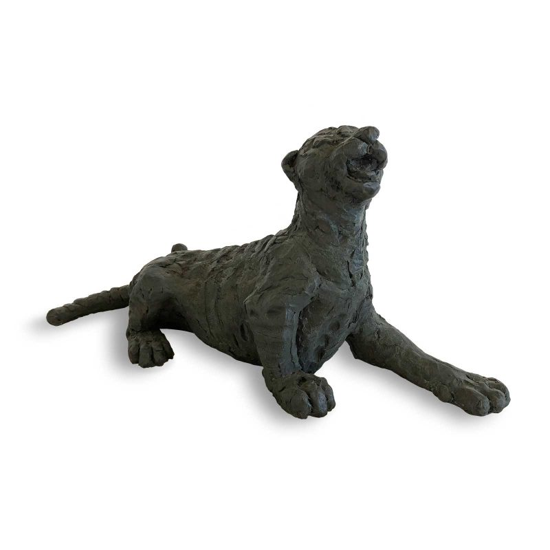 Sumatran Tiger Cub - Meow sculpture