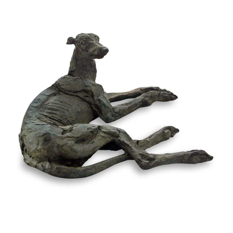 Well Maybe it Was - greyhound sculpture